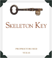 Skeleton Key Red Blend Label