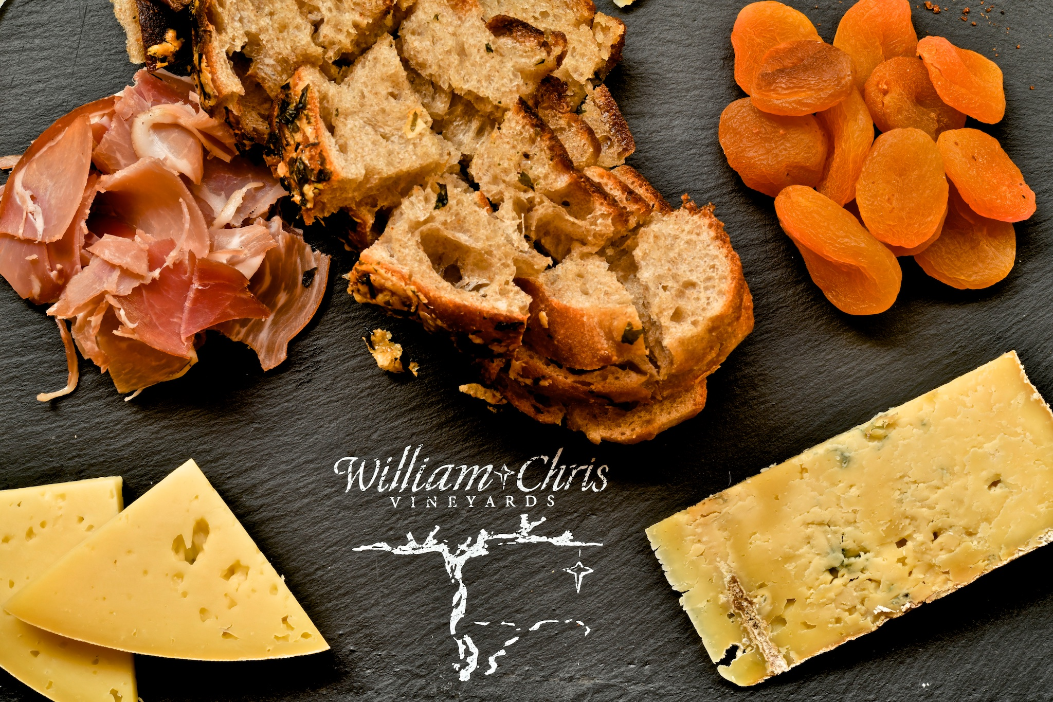 Food and Wine at William Chris Vineyards