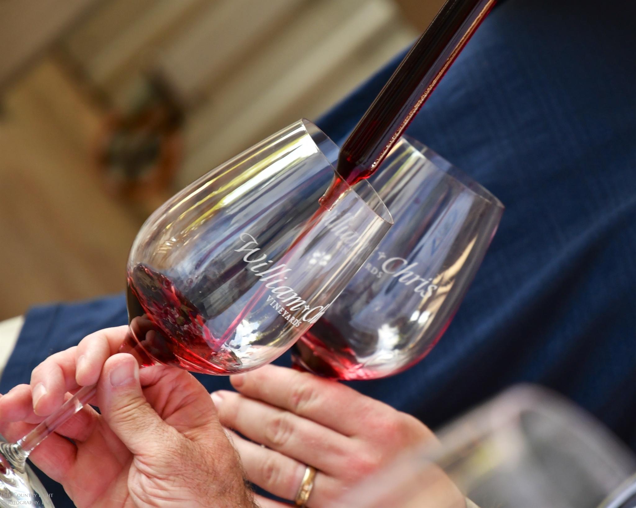 Tasting from Wine Barrels